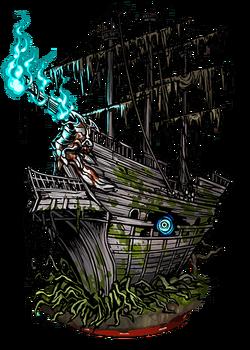 Ghost Ship Figure