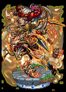 Zhu Rong, the Blazing Storm Figure