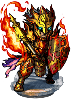 Vulcan the Firewreathed Figure