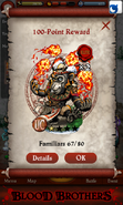 Jimba, Fire Juggler Point Reward