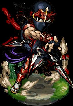 Ninja Bladestorm II Figure