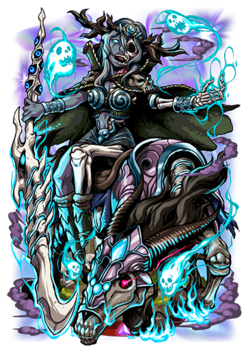 Hel, Goddess of Woe Figure