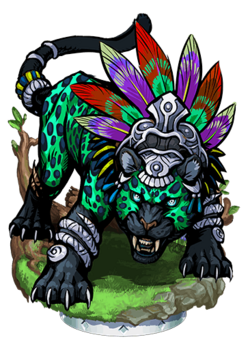 Jaguar Tombkeeper II Figure
