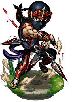 Ninja Bladestorm II + Figure