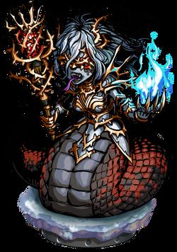 Queen Echidna II Figure