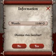 Dismiss Informaion