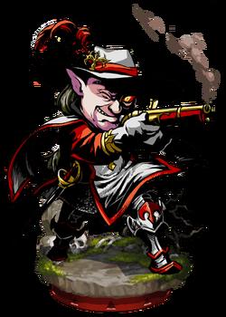 Imperial Musketeer II + Figure