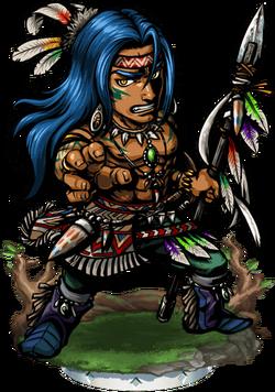 Teculoseh, Great Chief Figure
