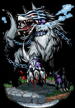 Schlact, The Frost Wolf II Figure