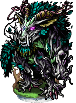 Yale, Avatar of the Forest Figure