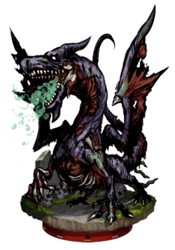Zombie Dragon Figure