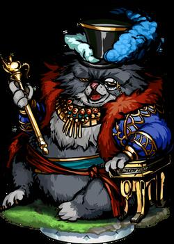 Cat Sith Aristocrat Figure