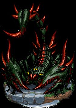 Killer Scorpion Figure