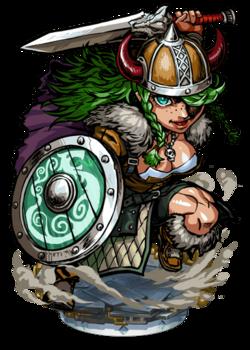 Palna, Viking Warrior II Figure
