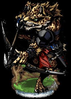 Philoc, Leopardman Figure