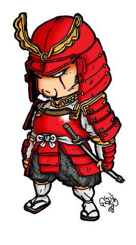 File:Red Samurai .jpg