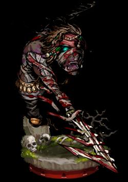 Zombie Berserker Figure