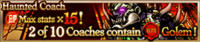 Haunted Coach Banner