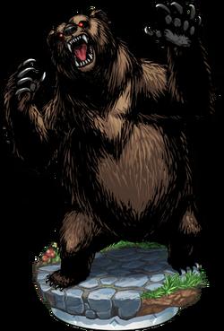 Cave Bear Figure