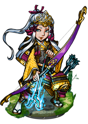 File:Tomoe, the Lightning Arrow II Figure.png