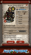 Ragnar, Dragonslayer II PE Stats