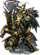 Sir Kay of Bat Armor II Figure