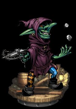 Goblin Gambler II + Figure