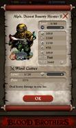 Alph, Desert Bounty Hunter II Base Stats