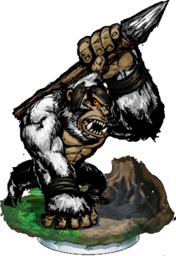 Gorilla Huntsman II Figure