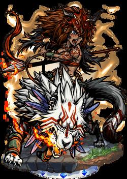 Melanippe, Wolfrider Figure