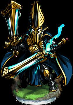 Elven High Guardian II Figure
