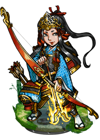 File:Tomoe, the Lightning Arrow Figure.png