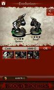 Gorilla Huntsman II (evolution)