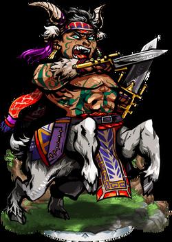 Bolus, Centaur Warrior II Figure