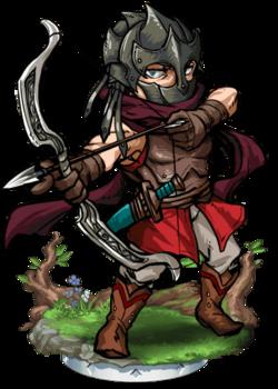 Elven Elite Sniper Figure