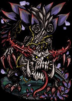 Lindworm, the Black Rose Figure