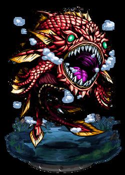 Taniwha, Armored Fish II Figure