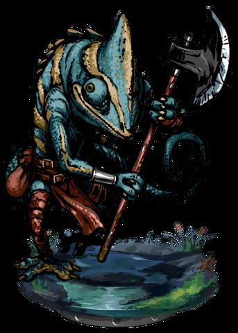 File:Lizardman Tribal Warrior + Figure.png