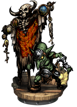 Goblin Gonfalon + Figure
