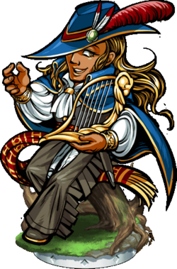 Adonis the Bard Figure