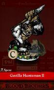 Gorilla Huntsman II (evolution reveal)