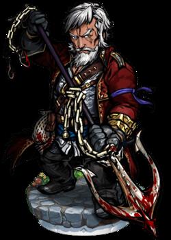 Ahab, the Colossal Anchor II Figure