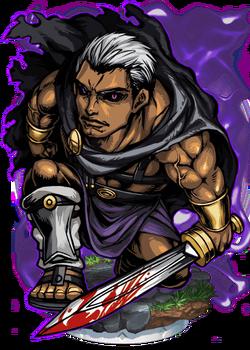 Marcus, Blood Warrior Figure