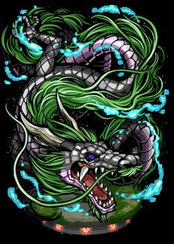 Hei Long, Black Dragon II Figure