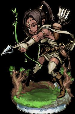 Elven Archer + Figure