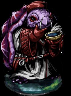 Lizardman Doctor II Figure
