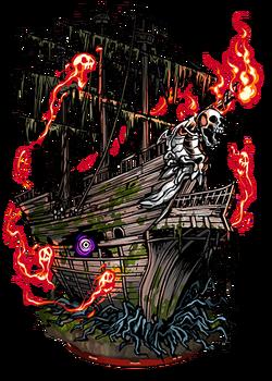 Ghost Ship II Figure