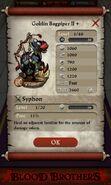 Goblin Bagpiper II plus (base stats)