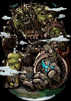 Tuniq, Guardian Colossus Figure