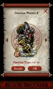 Dwarven Warrior II -alternate version- (pact)